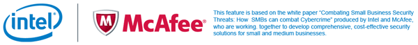 Combating small business security threats by Intel & McAfee